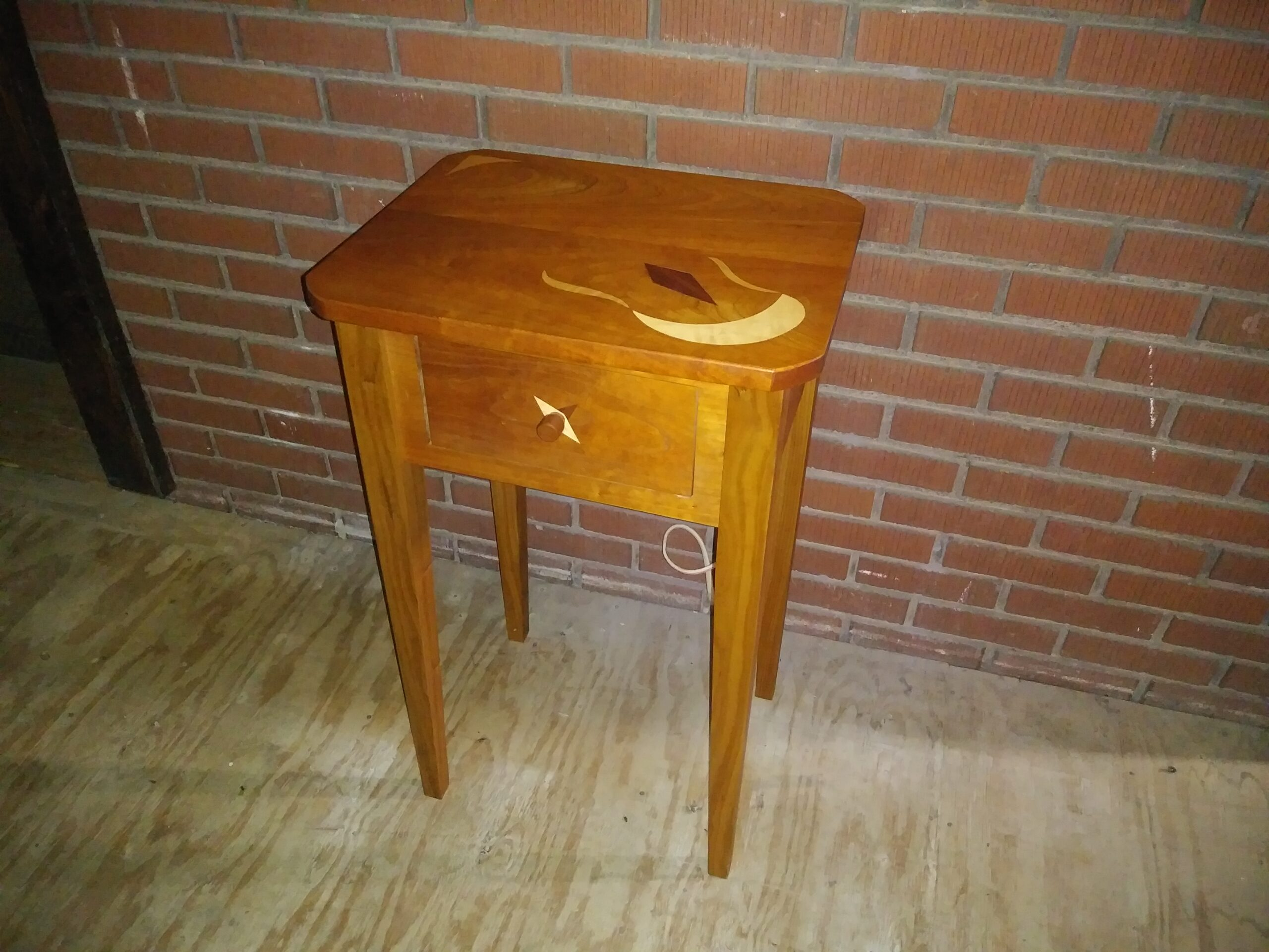 Side Table - inlay