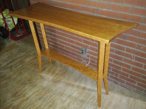 Cherry Hall Table